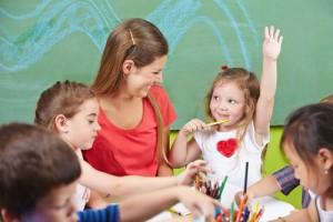Children attending child care in Spring Hill